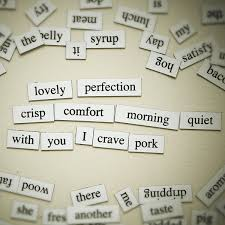 DIY Magnetic Poetry
