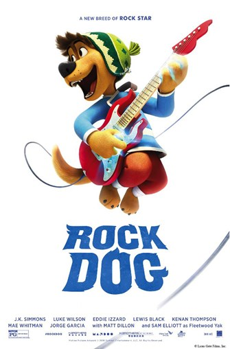 Movie Marathon: Rock Dog (Sensory/Family Friendly)