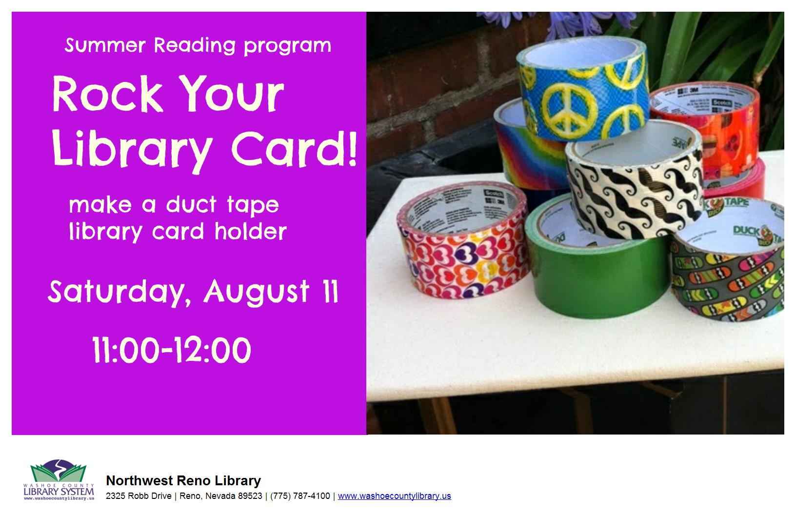 Rock Your Library Card!