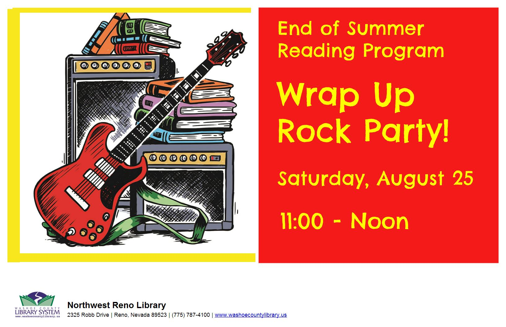 Summer Reading Program Wrap-Up Party