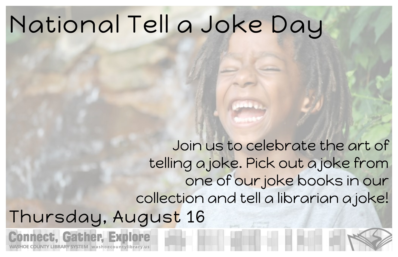 In Celebration of... National Tell a Joke Day