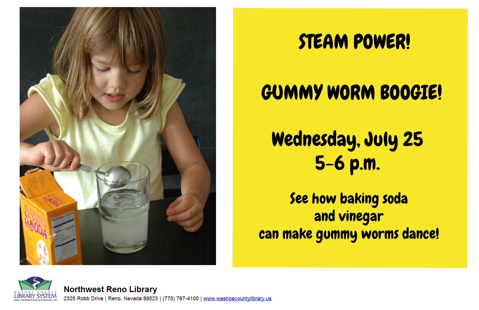 STEAM POWER: Gummy Worm Boogie!