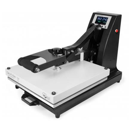 Learn How to Use a Clamshell Heat Press in the Quad