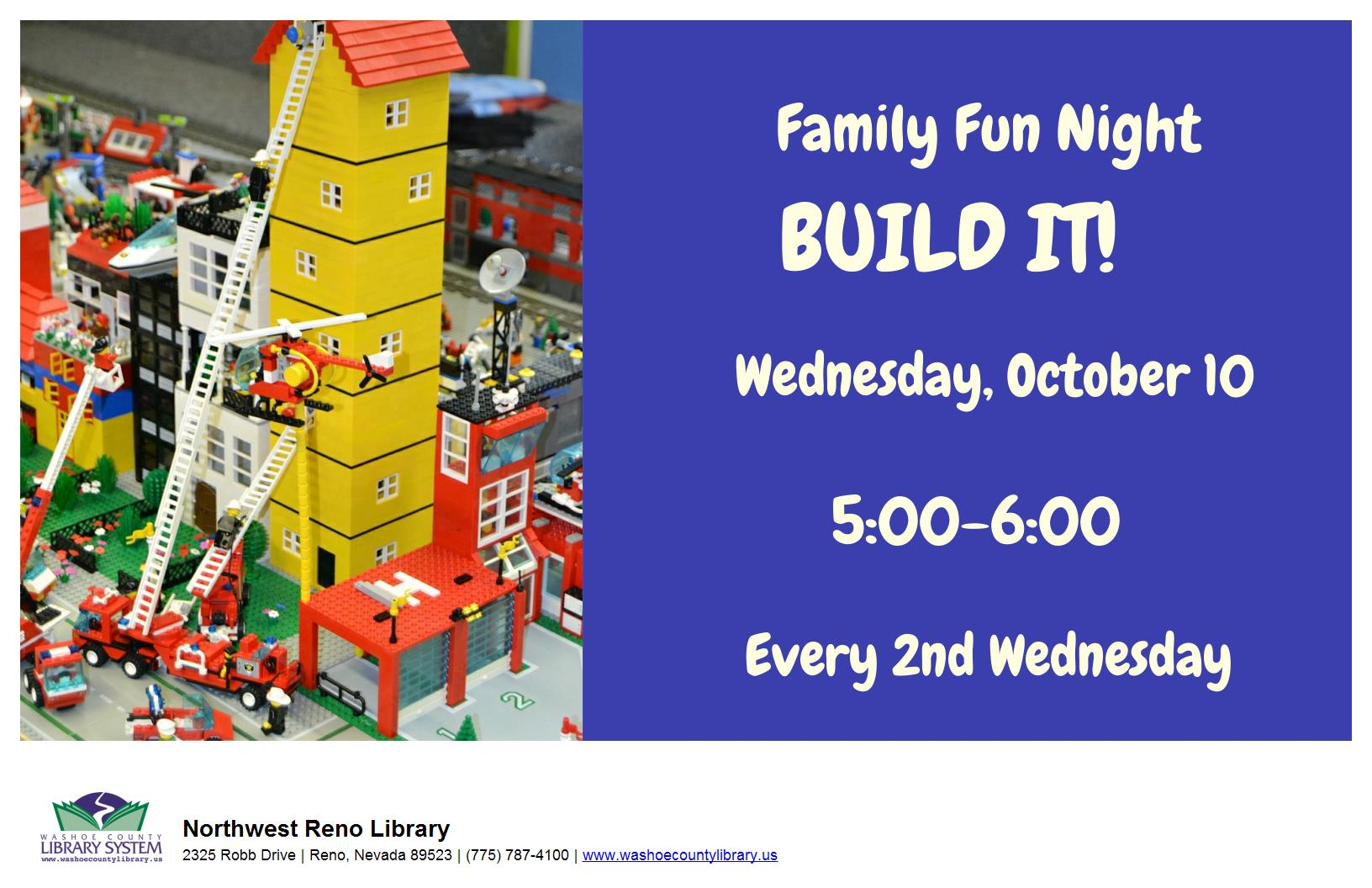 Family Fun Night: BUILD IT!