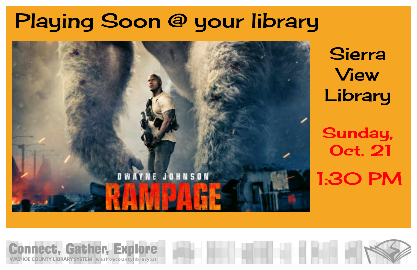 Movie Matinee - Rampage