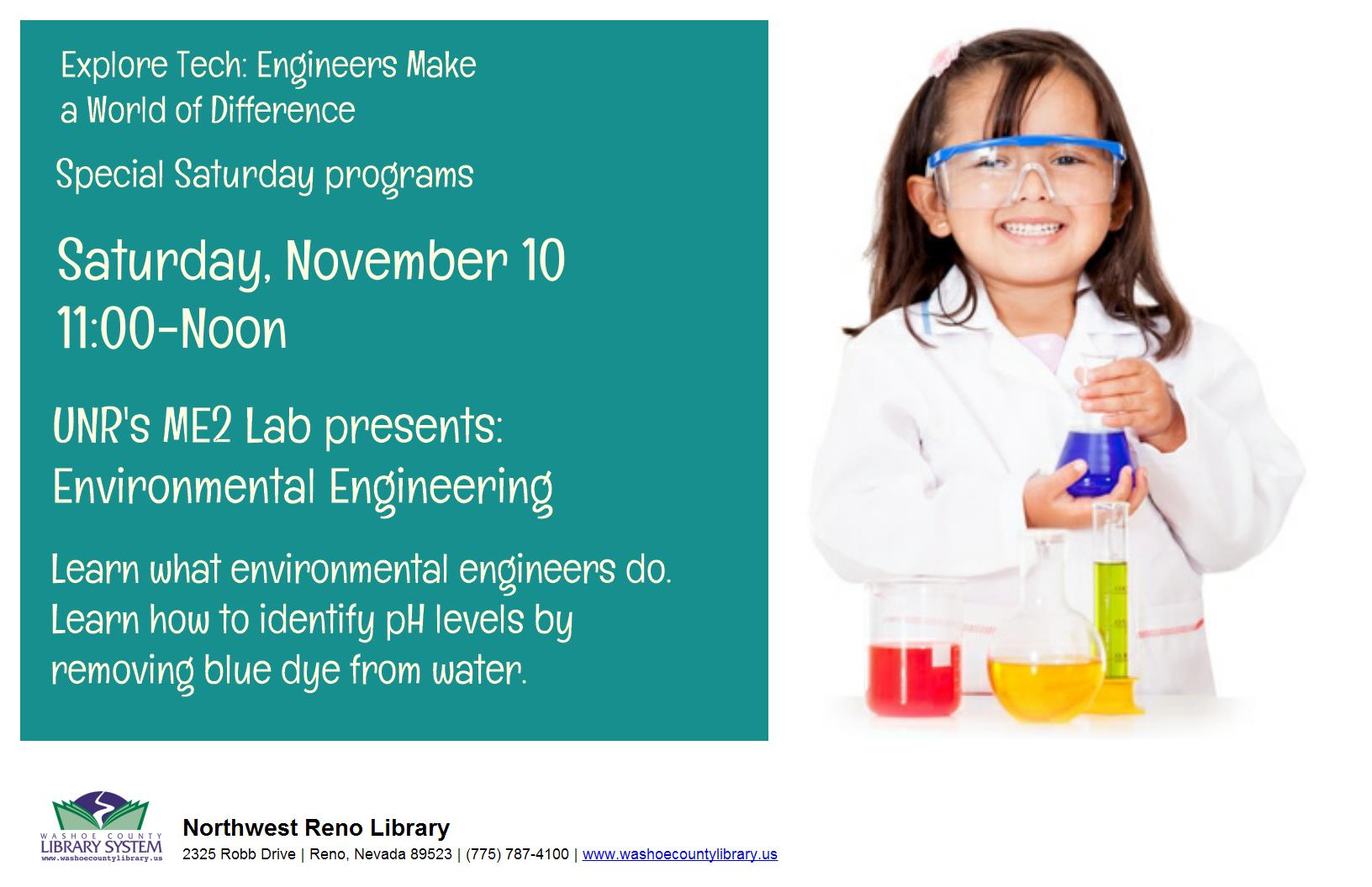 ME2 Lab Presents: Environmental Engineering