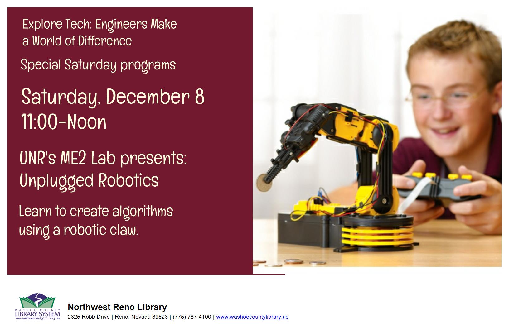 ME2 Lab Presents: Unplugged Robotics