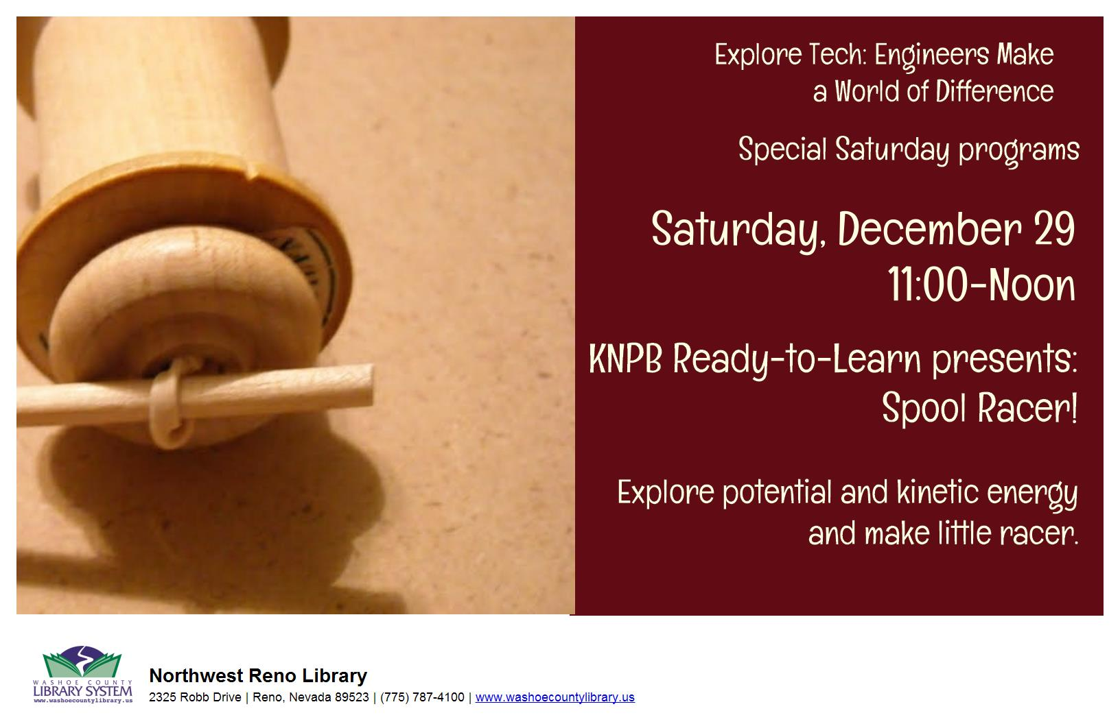 PBS Ready to Learn Presents: Spool Racer