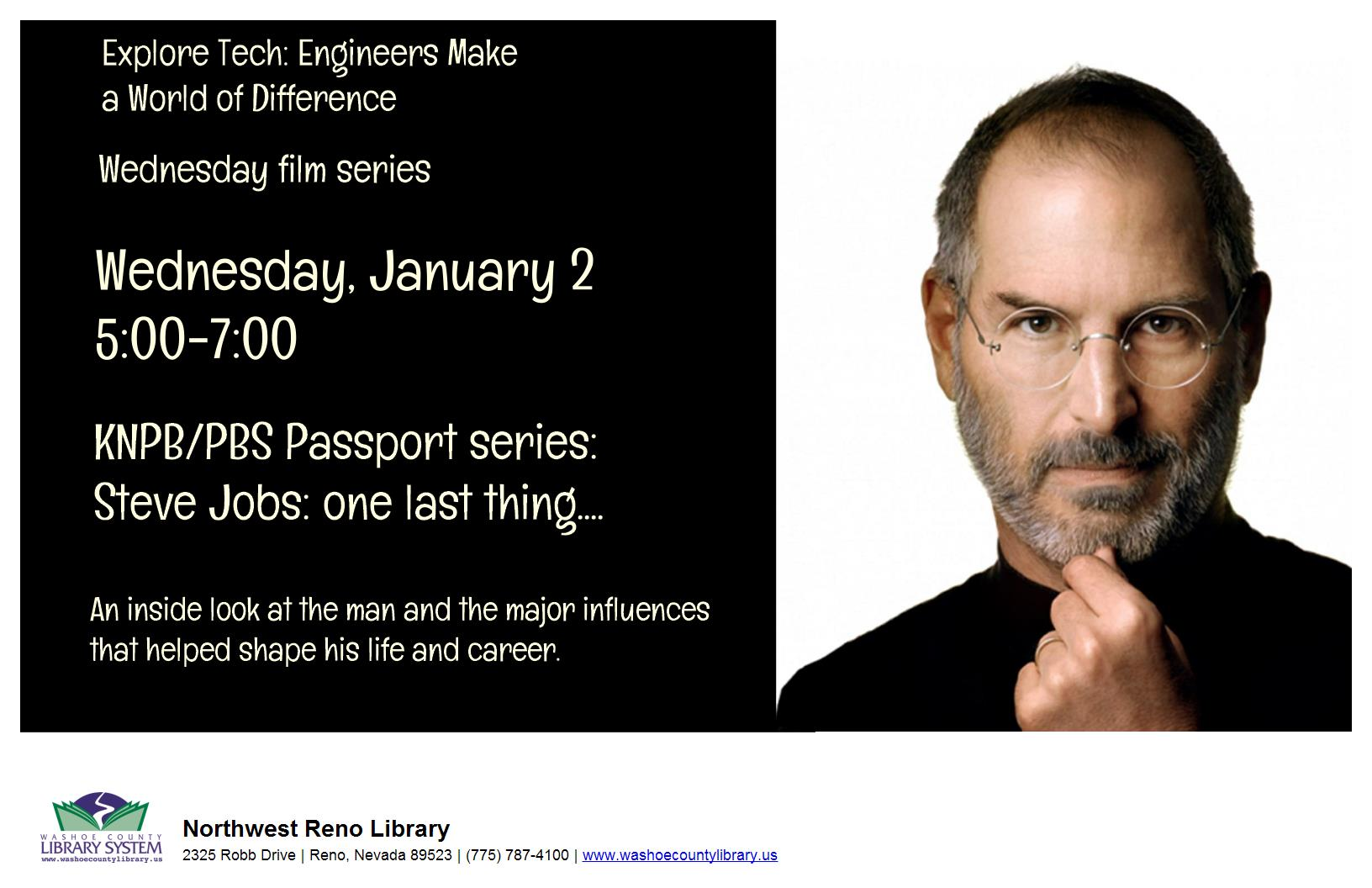 KNPB Passport Film Series: Steve Jobs: One Last Thing
