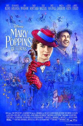 Movie Matinee: Mary Poppins Returns (2018)