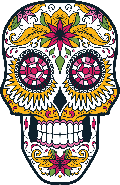 Día de los Muertos and Painting Sugar Skulls