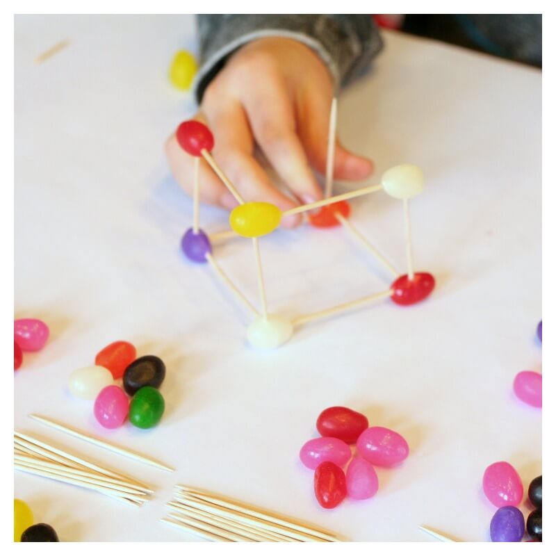 STEAM: Engineering with Jellybeans & Toothpicks
