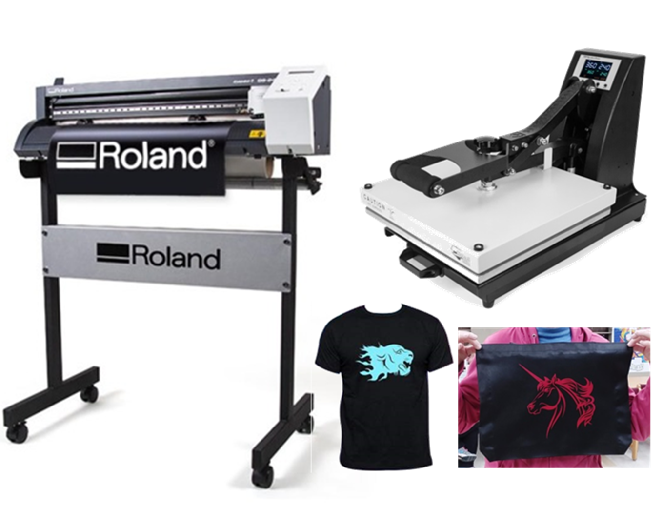 Learn & Make in the Quad: Vinyl Cutter & Clamshell Heat Press