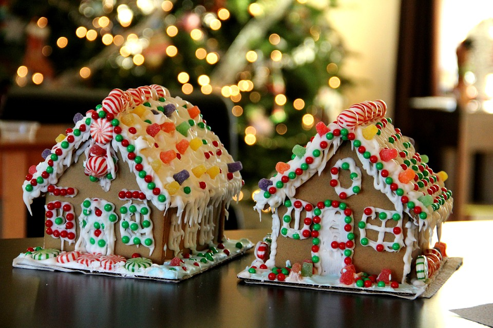 Make a Gingerbread House!