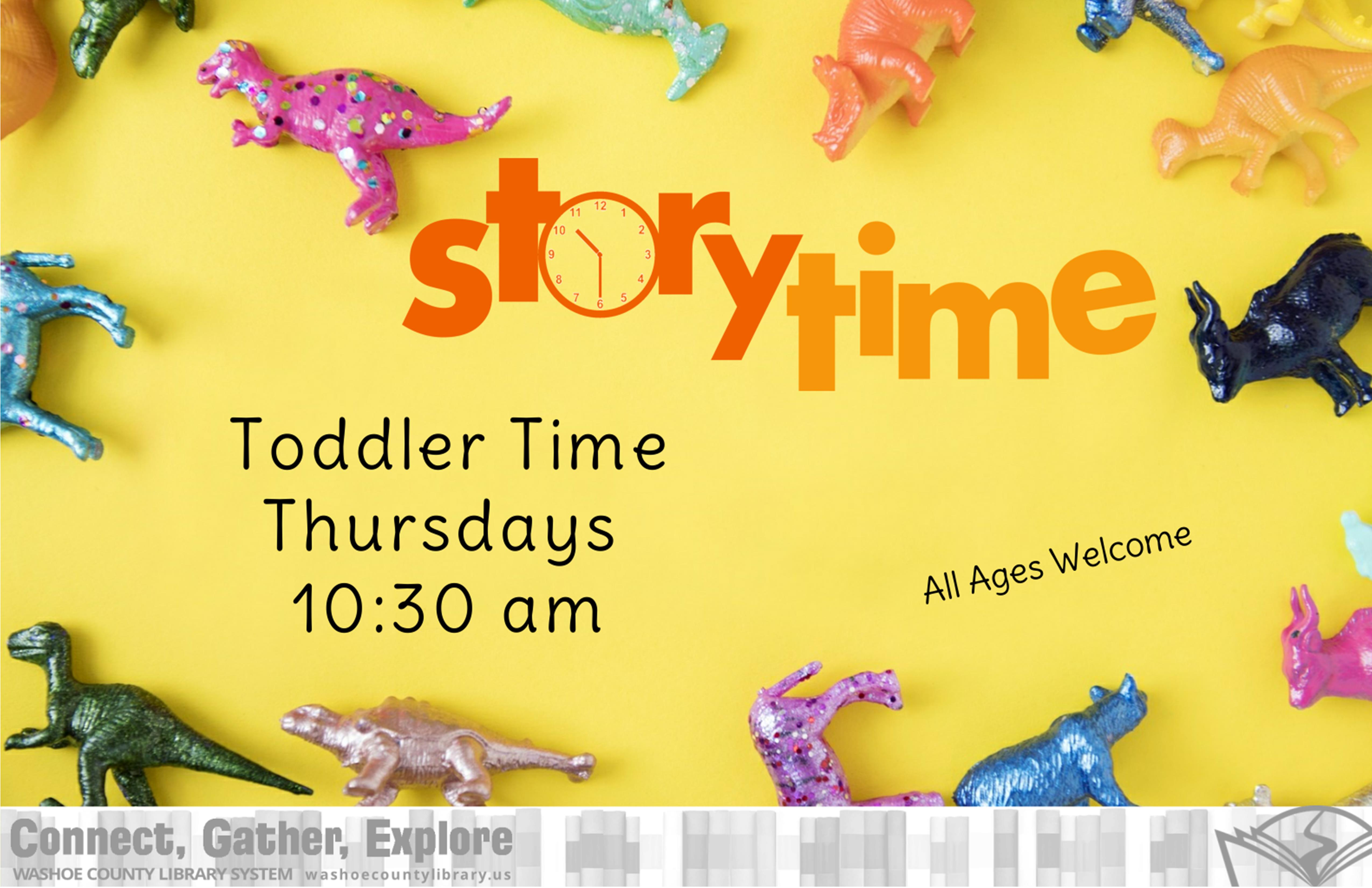 Toddler Time and Stay-n-Play