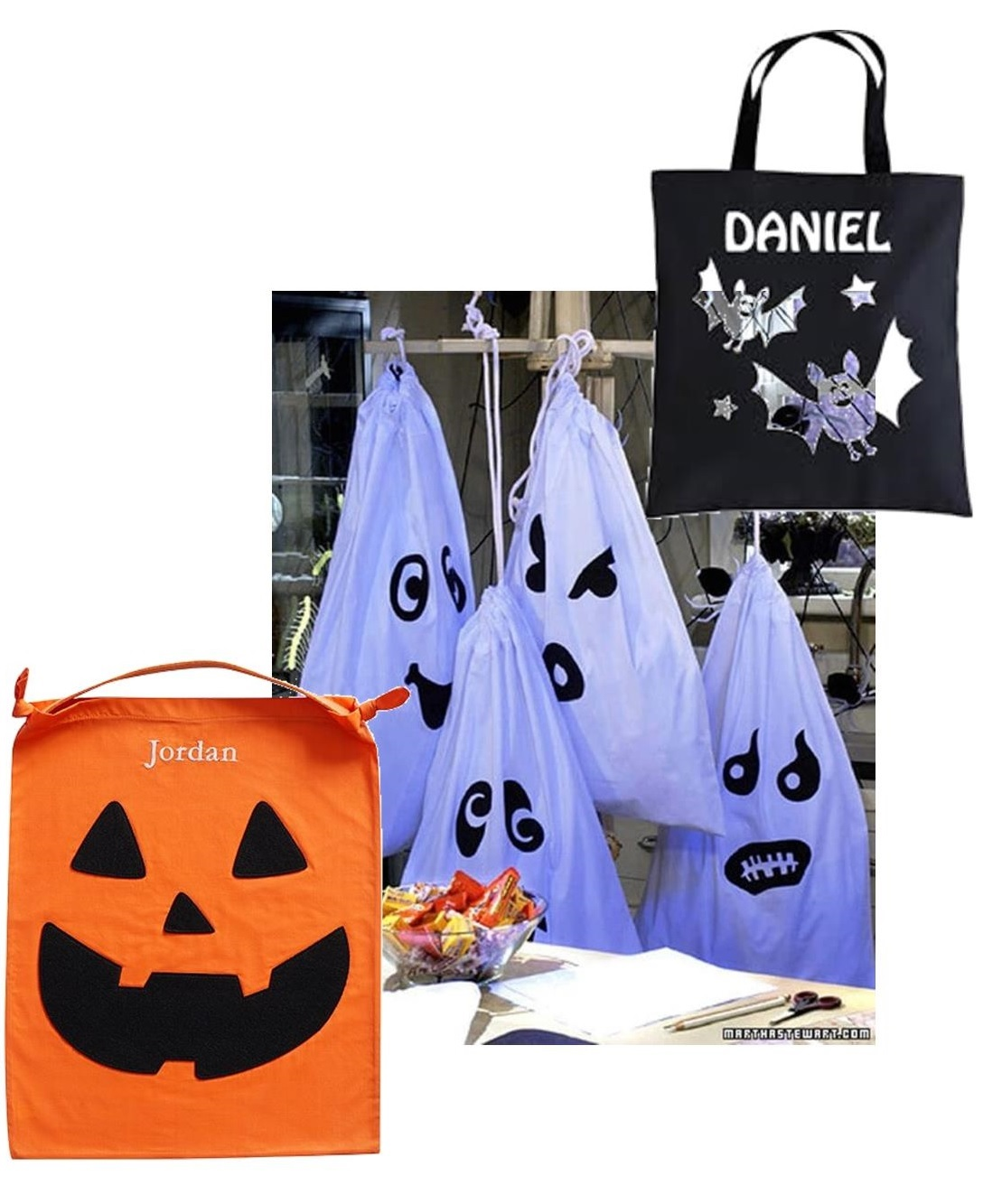 Make a Custom-Designed Halloween Treat Bag