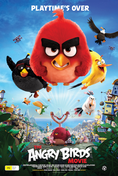 Movie Marathon: The Angry Birds Movie (English)