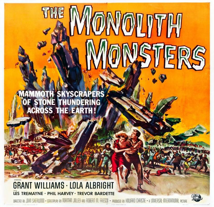 Film Classics Artown series: Classic Monsters From Outer Space: Monolith Monsters