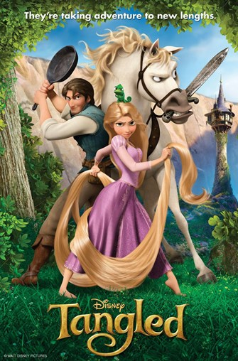 Fairy Tales in Movies: Tangled (Dubbed in Spanish)