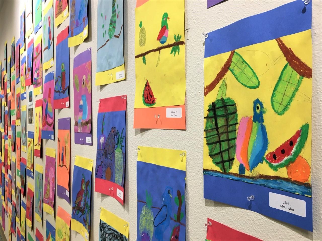Art Reception for Student Artists of Melton Elementary School