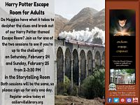 Harry Potter Escape Room for Adults