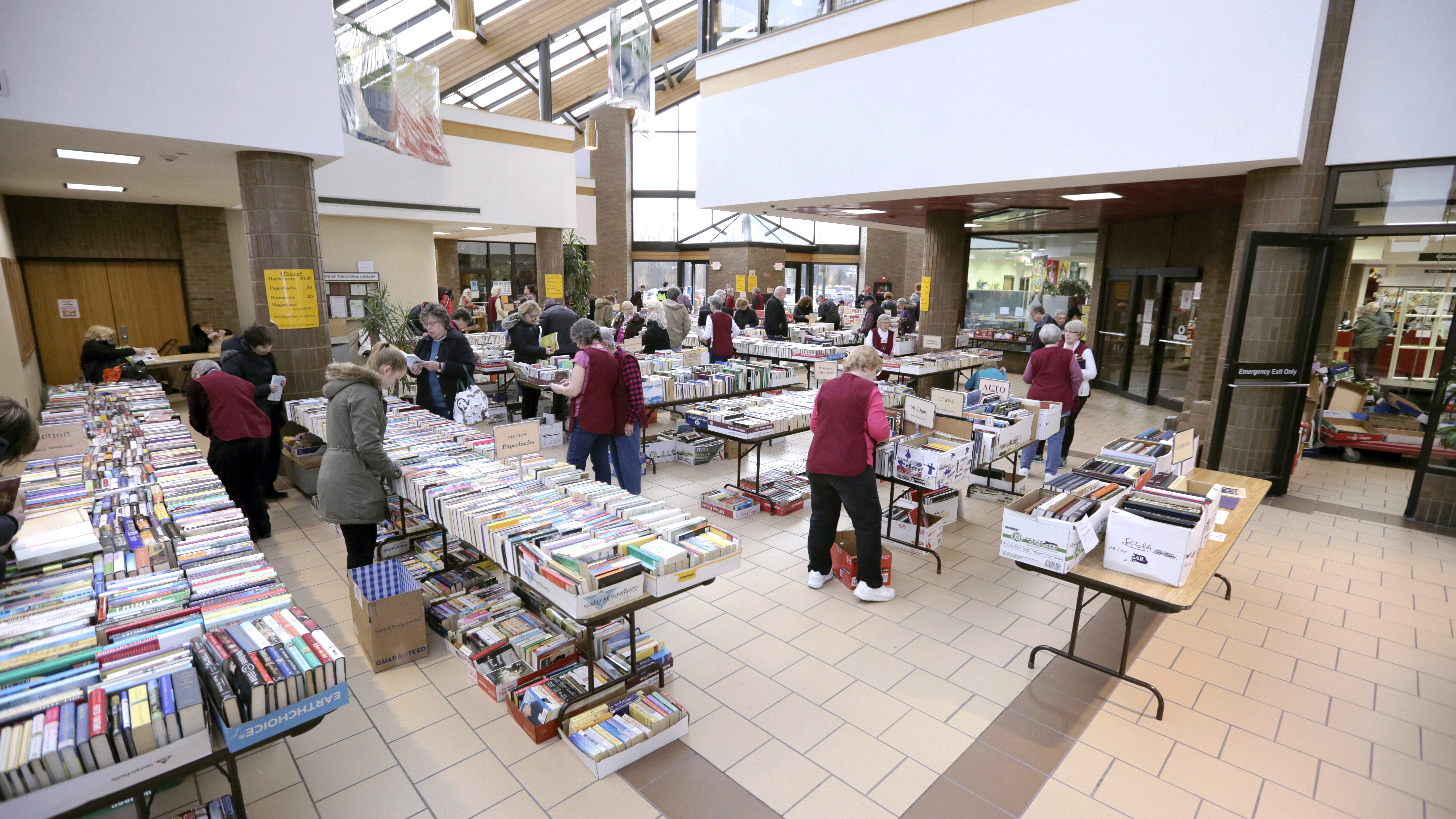 Friends of the Library Used Book Sale