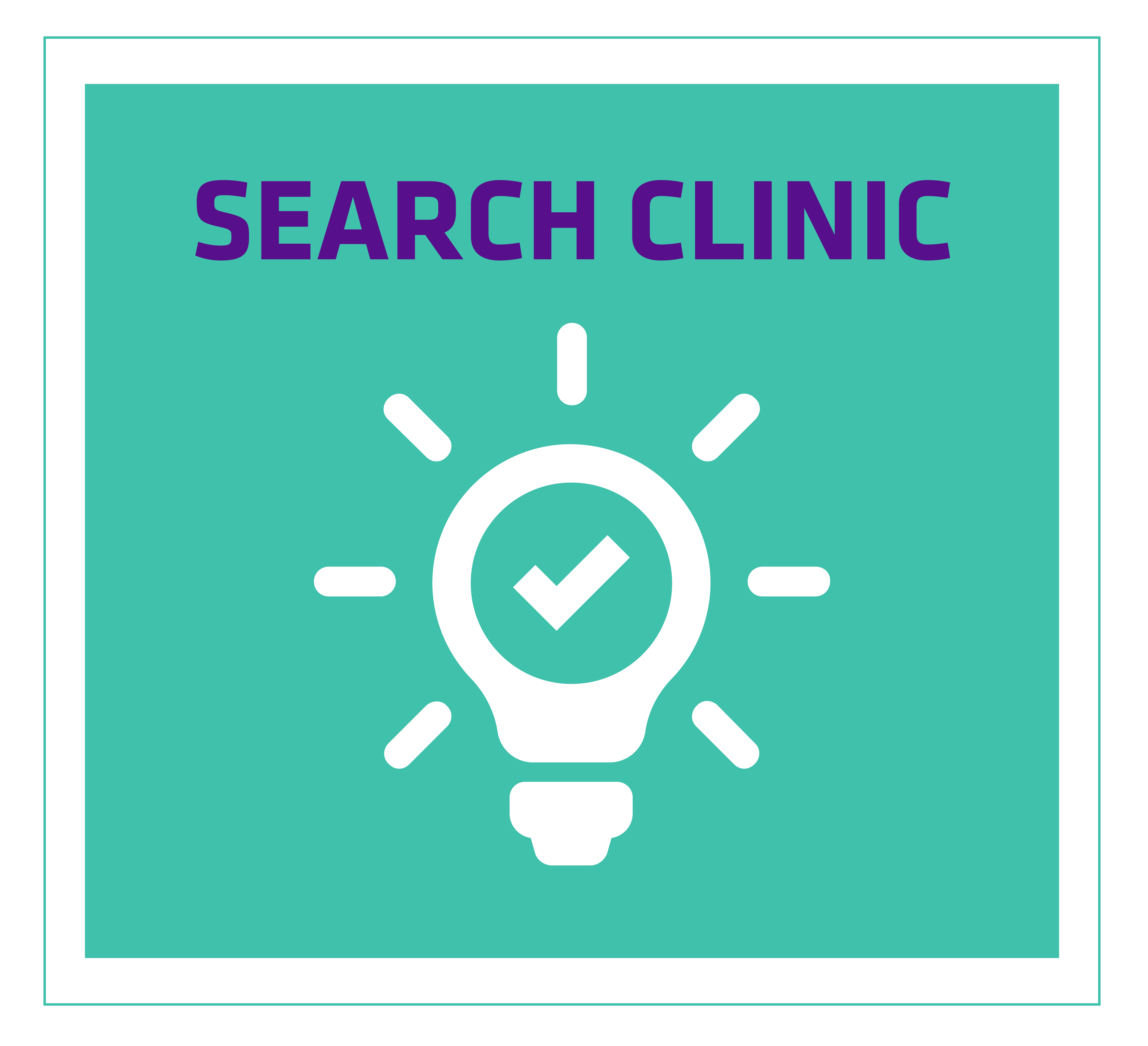 Search Clinic: Drop-in session for hands-on help