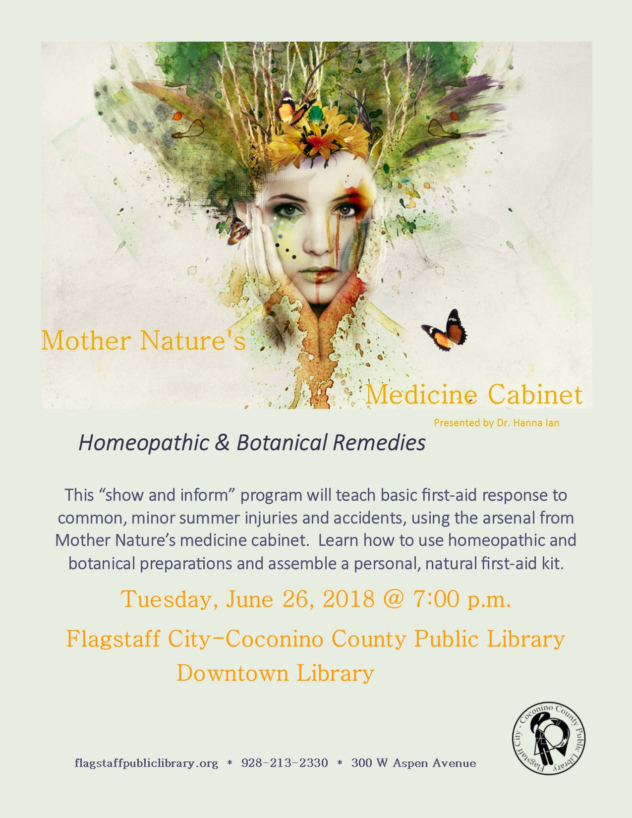 Mother Nature's Medicine Cabinet: Homeopathic & Botanical Remedies