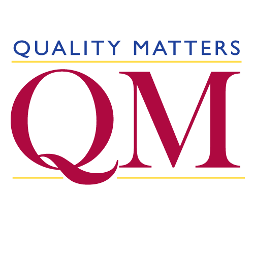 Reviewing Course Design with Quality Matters (November 4, 2019 - November 11, 2019)