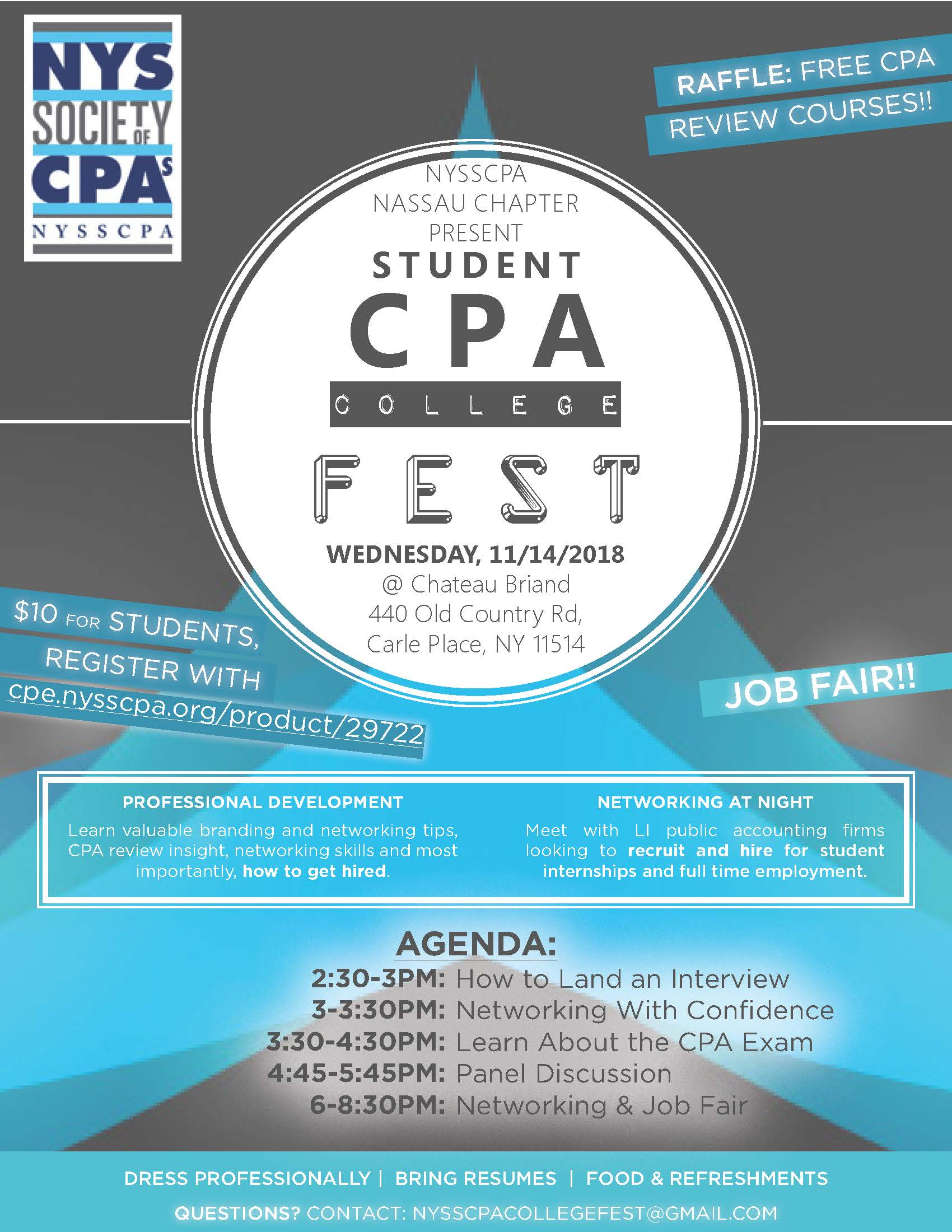 NYSSCPA - Student CPA College Fest