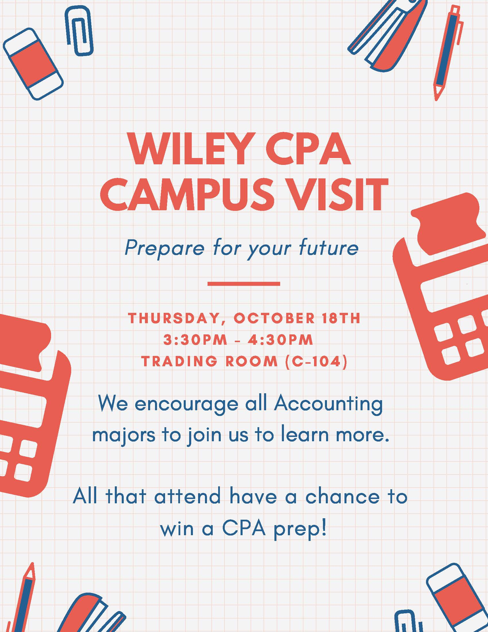 Wiley Rep on Campus - Accounting Majors