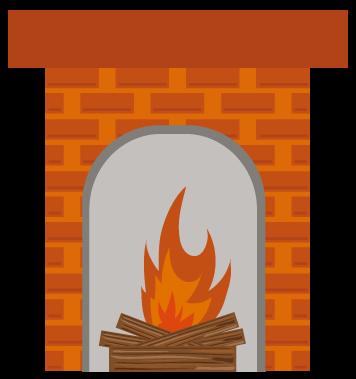Fake Fireplace, Real Conversation