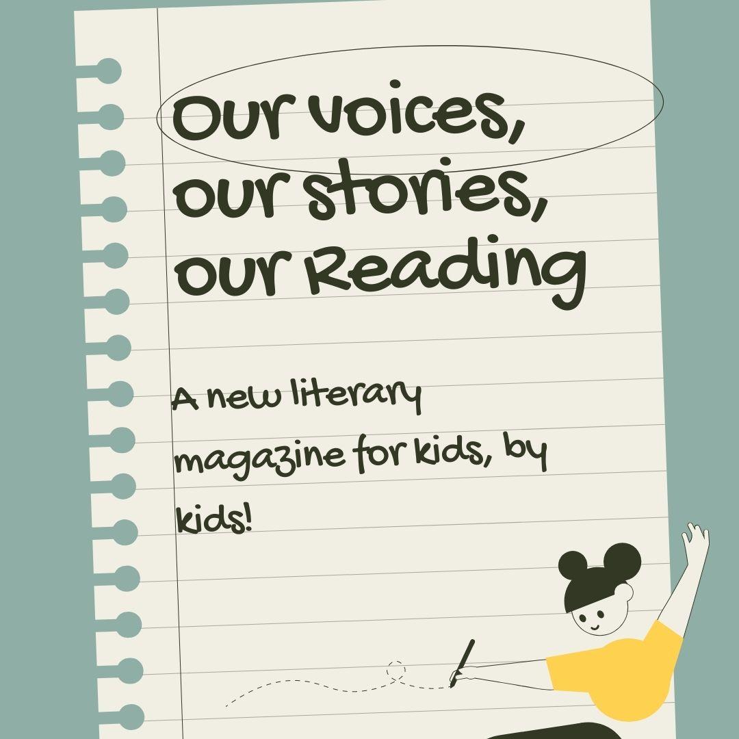 Literary Magazine: Meeting for Grades 3-5