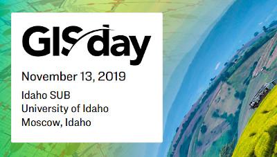 GIS Day 2019 @ UIdaho