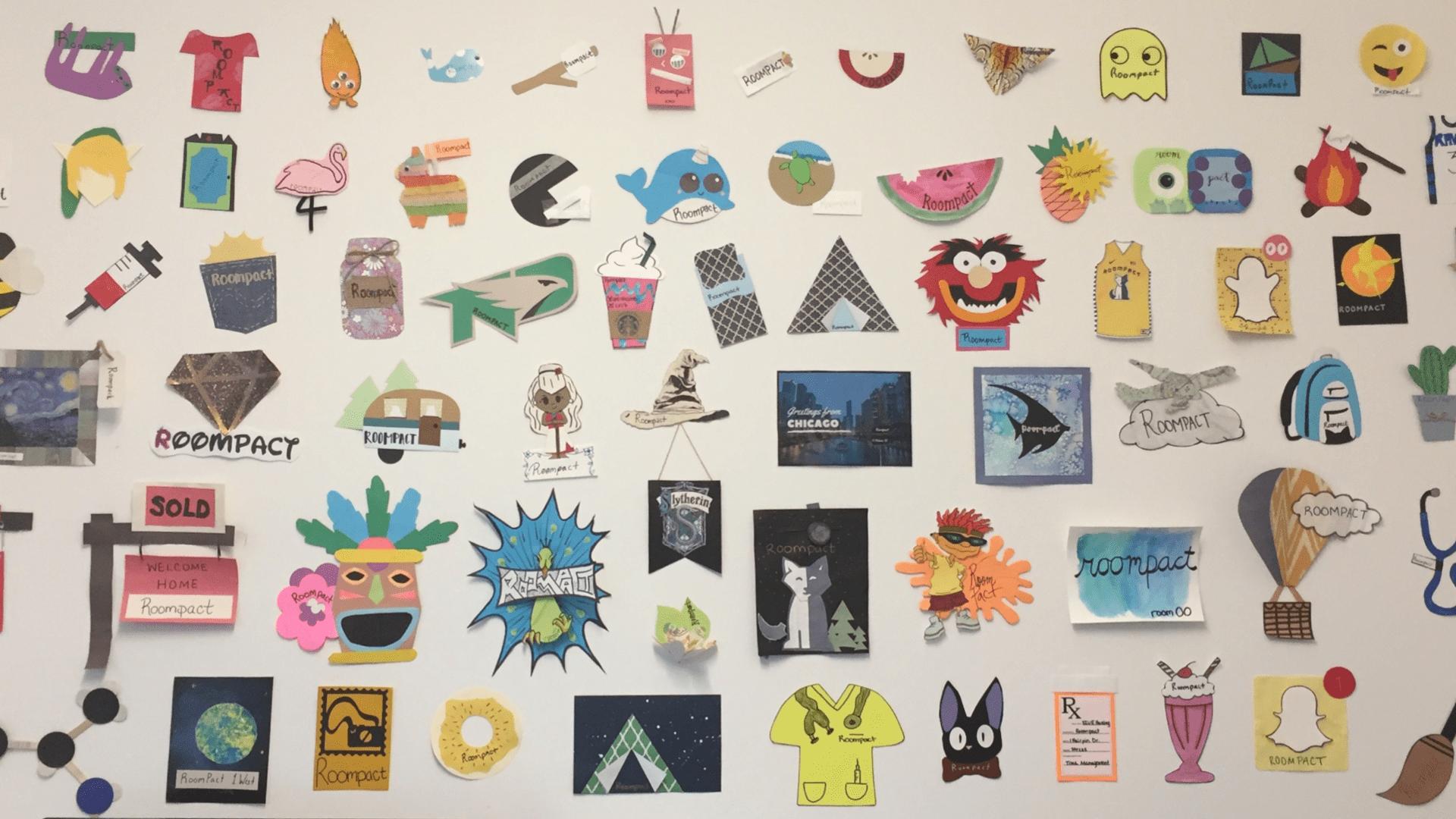 Paper Crafts: Door Dec. Demo