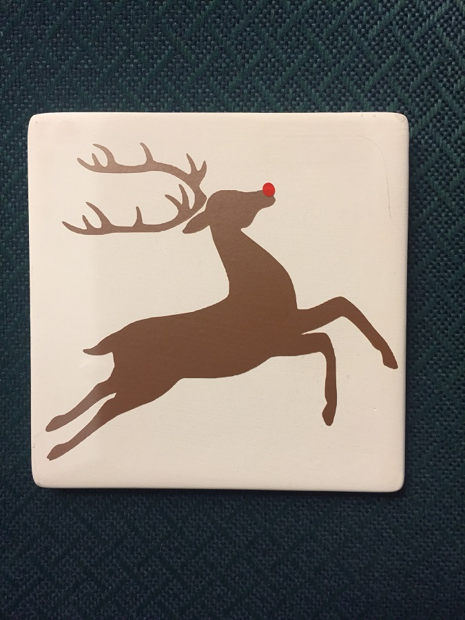 Beginning Silhouette Cameo: Holiday Coaster (ages 13+)