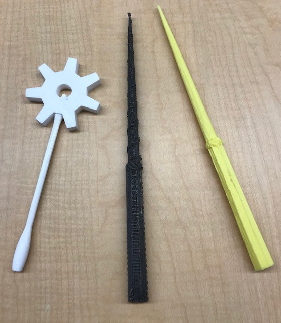 Family Beginning Tinkercad: Wizard and Fairy Wands