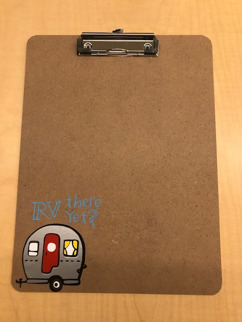 Beginning Silhouette Cameo: Personalized Clipboard (ages 13+)