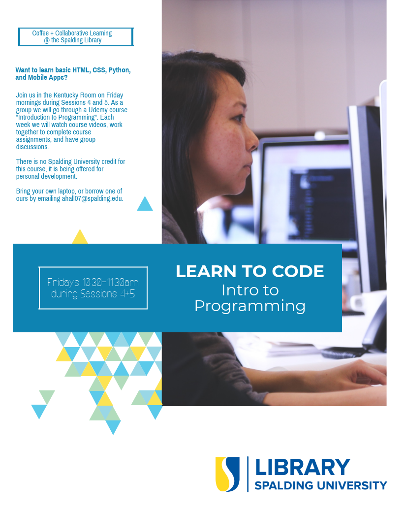 Intro to Programming: Coffee + Collaborative Learning