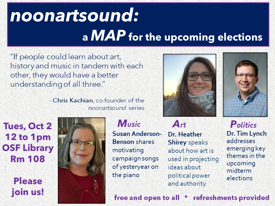 noonartsound: A MAP for the Upcoming Elections