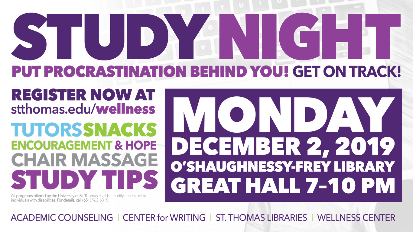 Study Night in the Library