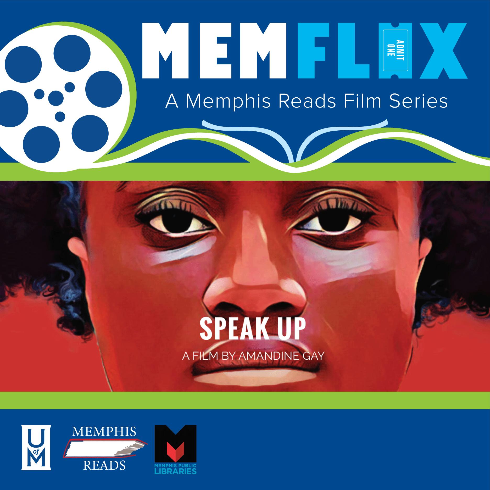 """MEMFLIX: """"Ouvrir la Voix / Speak Up"""" Film Viewing & Panel Discussion"""