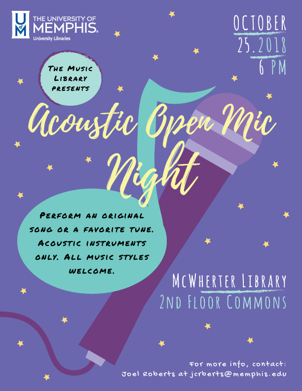 Open Mic Night(Acoustic Music)
