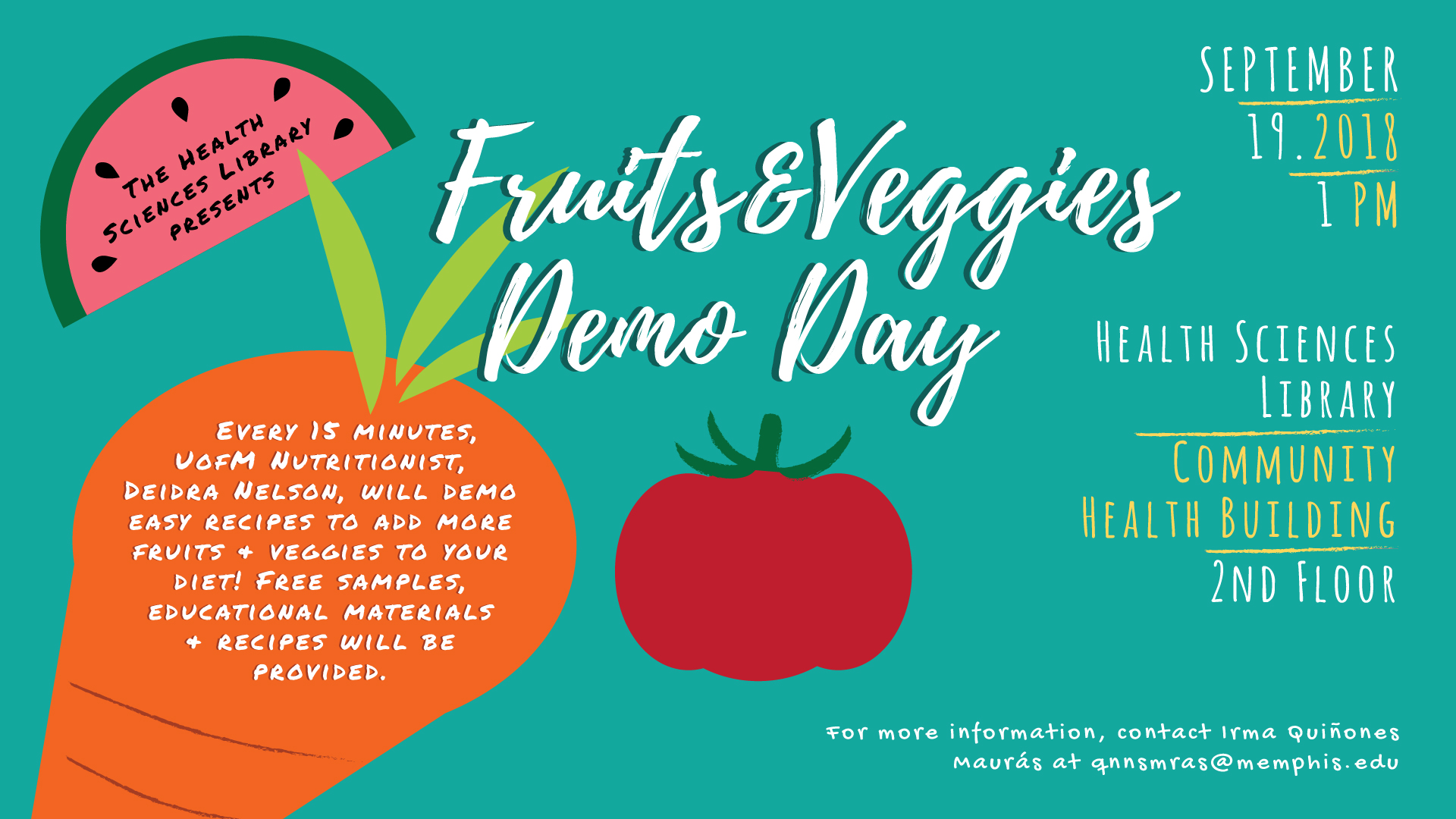 Fruits & Veggies Demo Day
