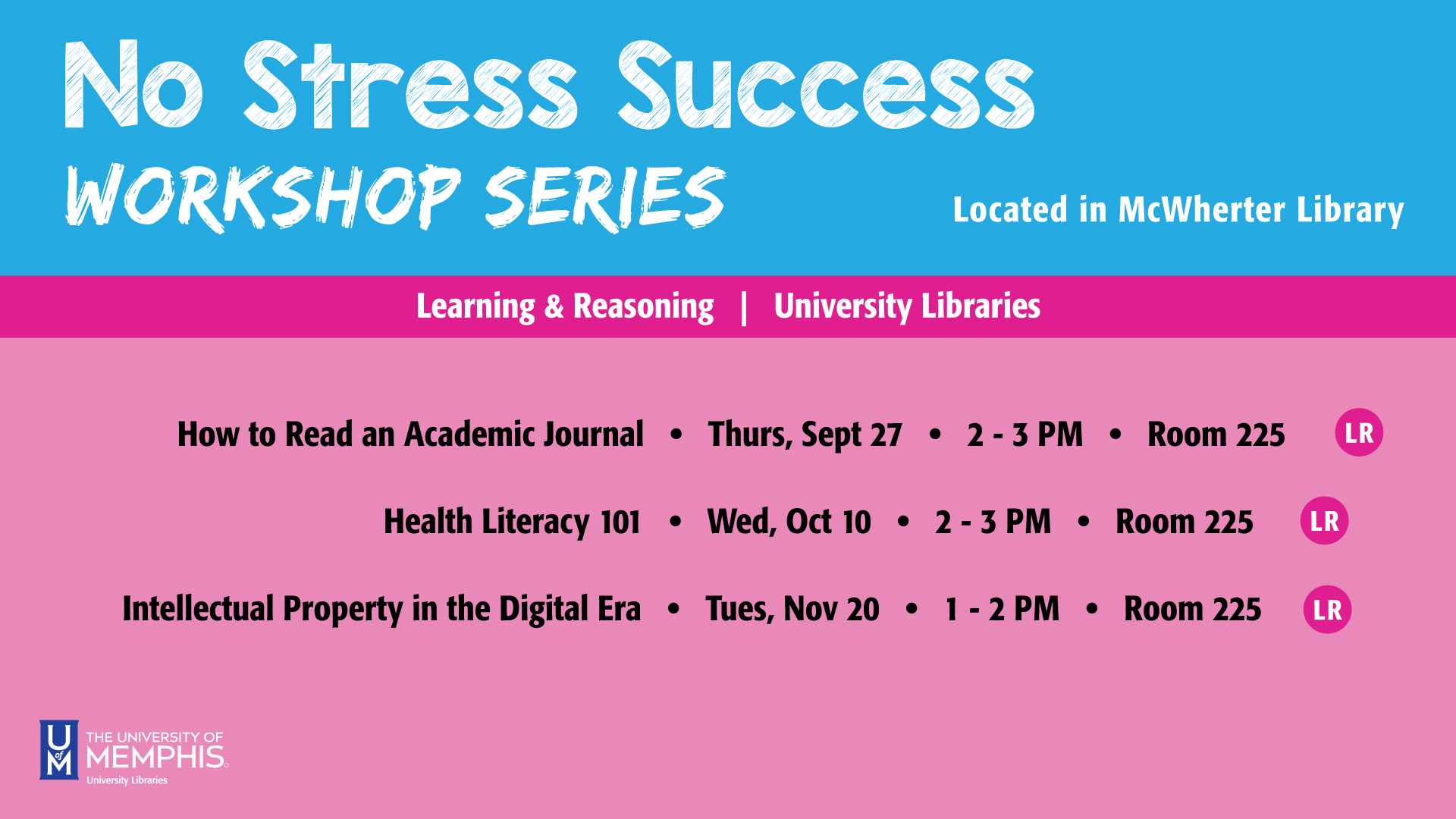 No Stress Success Workshop: How to Read an Academic Journal Article