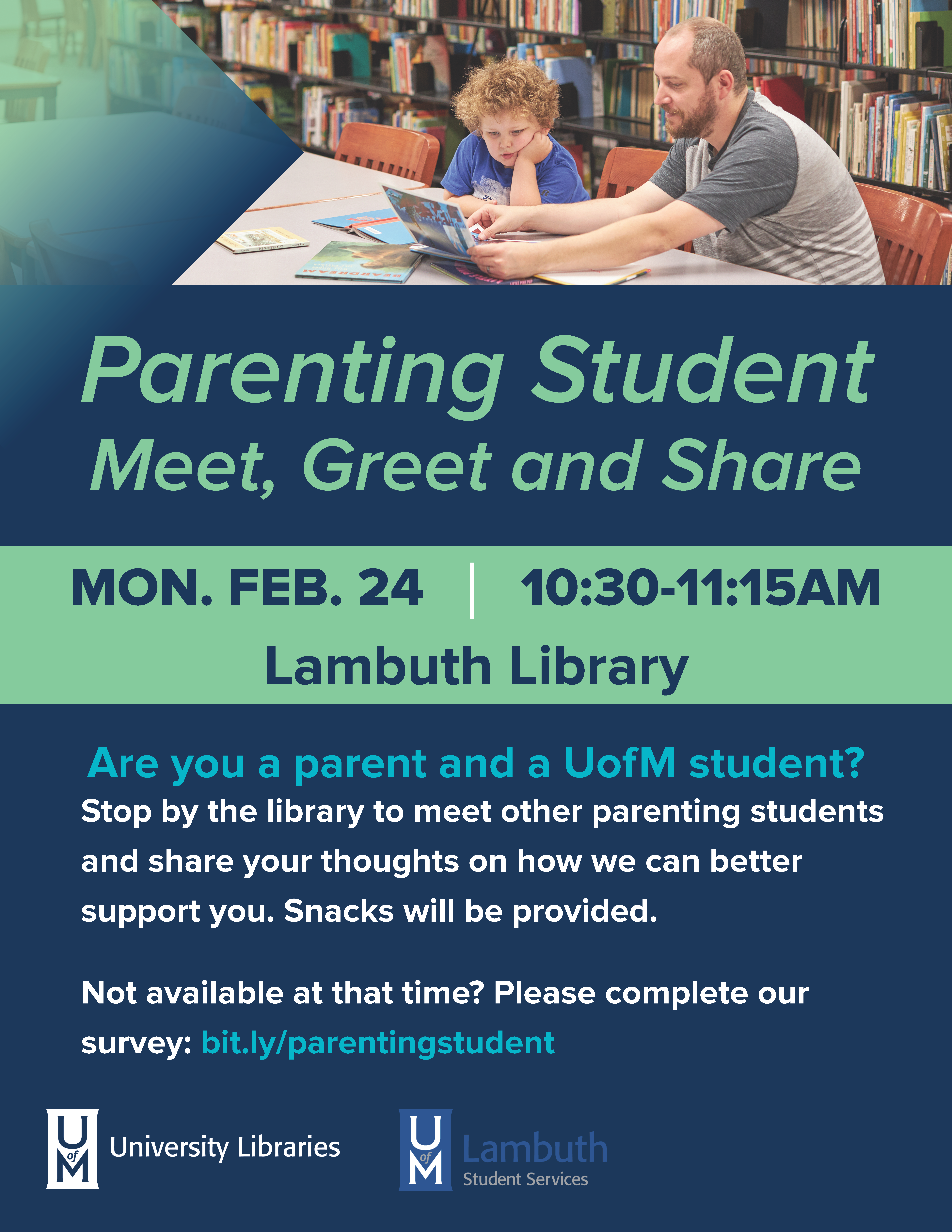Parenting Student Meet, Greet and Share