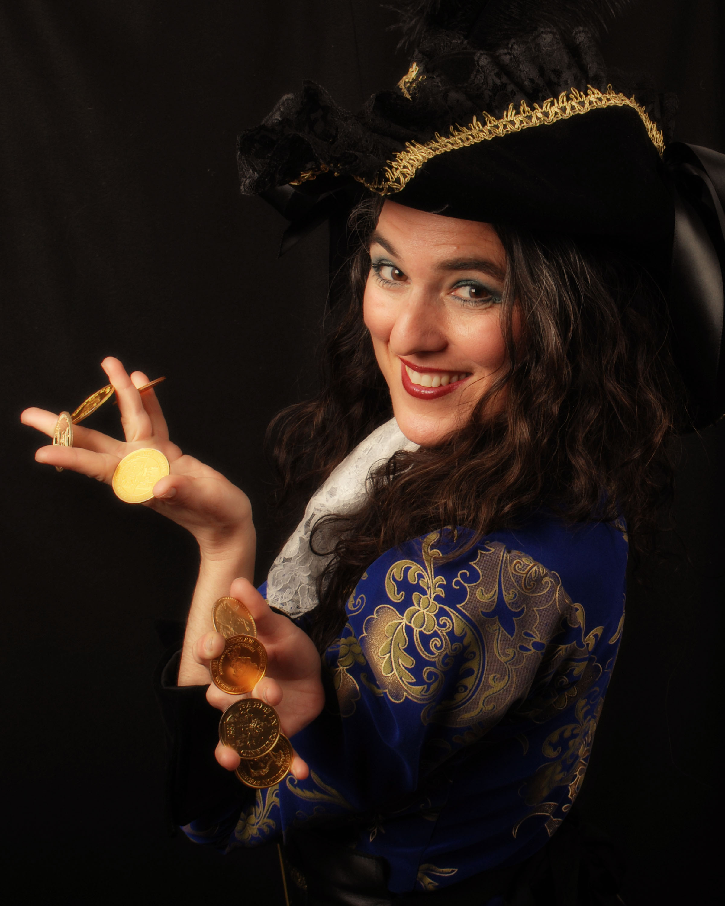 Magician Erica Sodos Presents Captain Rosebud and Her Ship of Enchantment