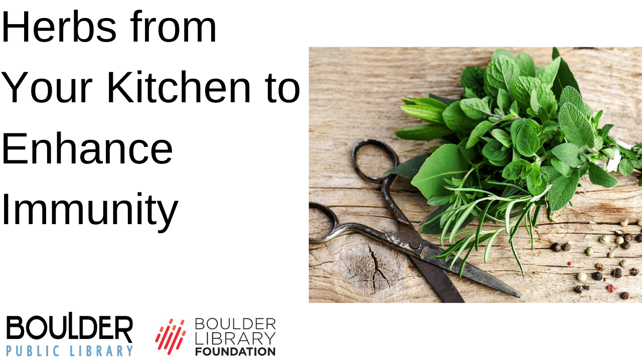 Herbs from your Kitchen to Enhance Immunity