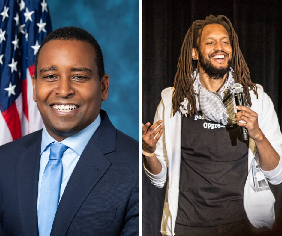 """""""So You Want to Talk About Race"""" with Congressman Joe Neguse and Stephen Brackett"""