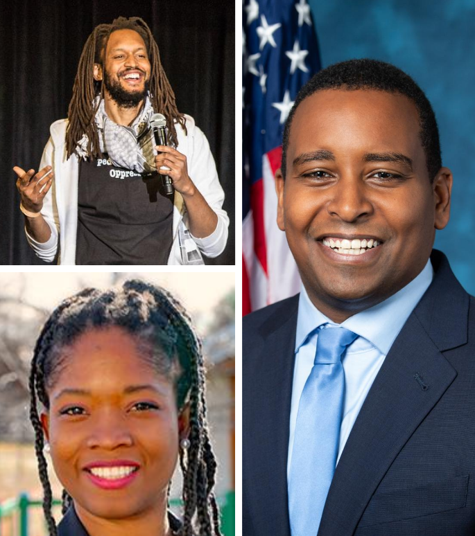 So You Want to Talk About Race with Congressman Joe Neguse, Junie Joseph, and Stephen Brackett